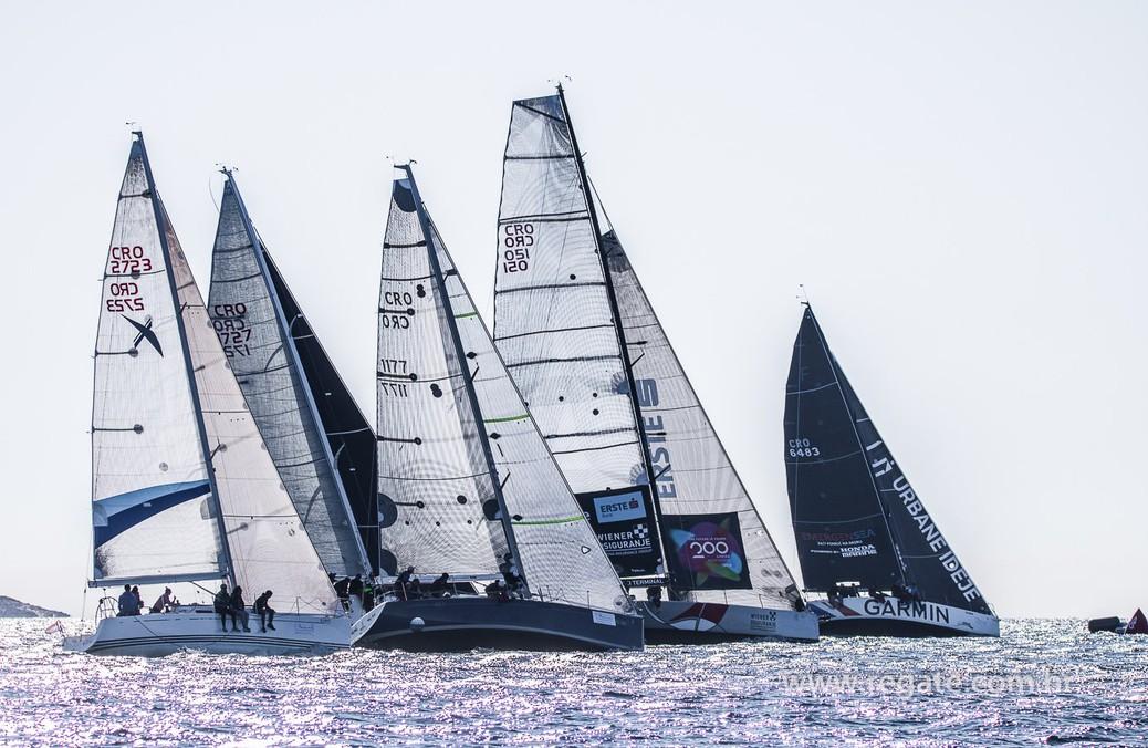 D-Marin Mandalina hosted the regatta of the Croatian ORC ...