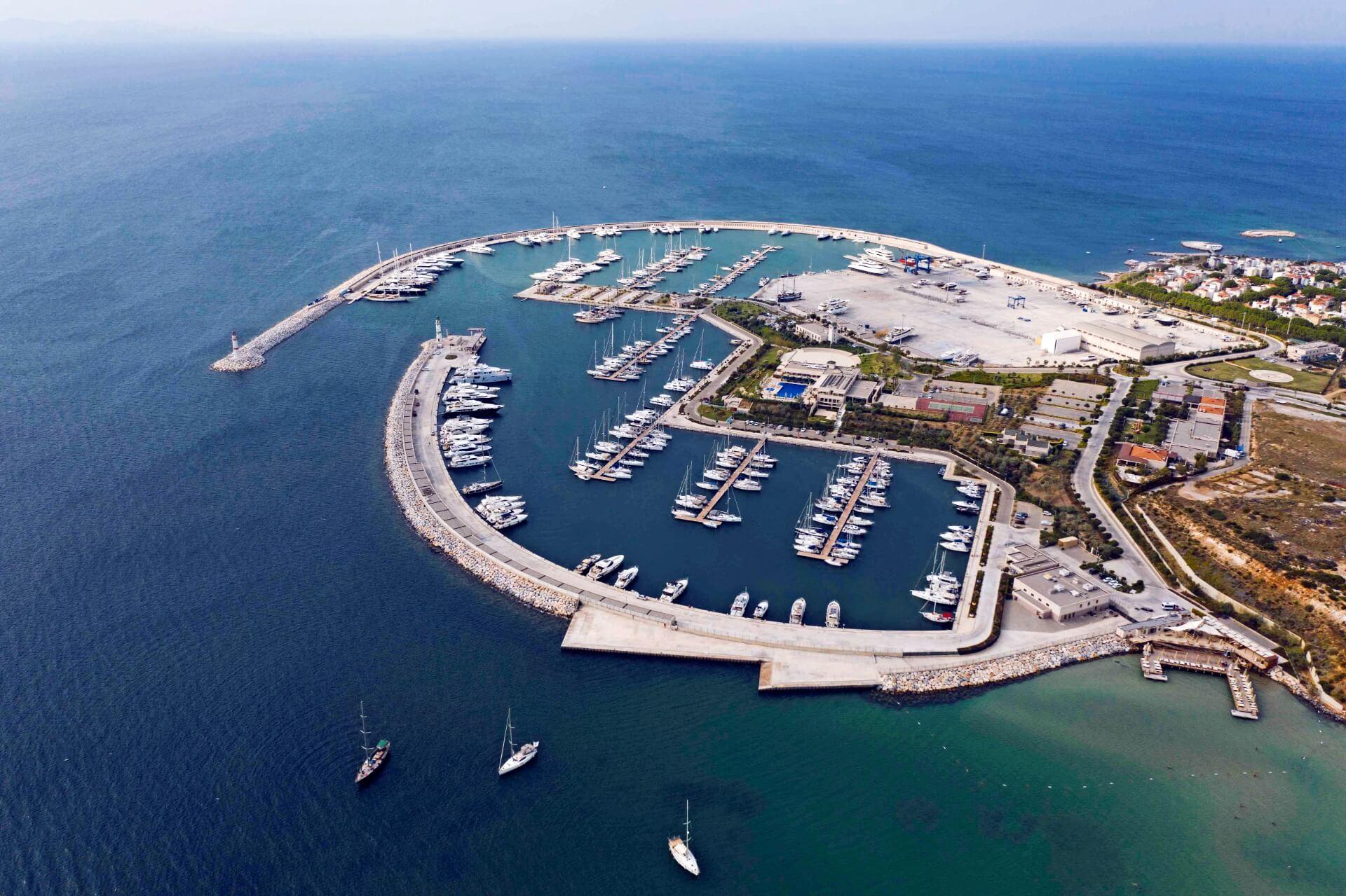 Capacities and services - Marina Didim | D-Marin